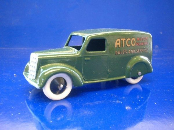 "A DINKY TOYS COPY MODEL 28 SERIES TYPE 3 DELIVERY VAN ""ATCO"""